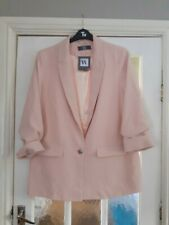 Womens bhs pink jacket size 16 brand new with tags