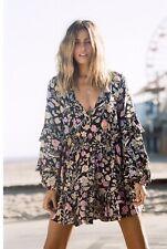 e1f83f0f9fd Spell   The Gypsy Collective Sayulita Frill Mini Dress L