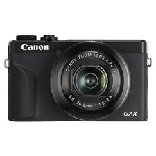 Canon PowerShot G7 X Mark III 20.2MP 4K Digital Camera 4.2x Optical Zoom Black