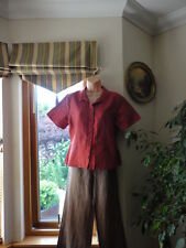 Linen Mix Top from Flax,UK Size S petite, New with tags,RRP£62