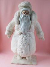 Santa Claus (DED MOROZ) Cotton Vintage Xmas Decor Soviet Russian Christmas USSR
