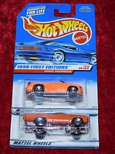 1998 Hot Wheels First Editions Dodge Sidewinder & '70 Roadrunner 2 Pk