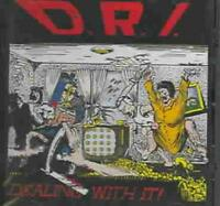 D.R.I. (PUNK) - DEALING WITH IT NEW CD