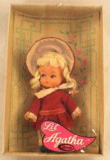 Vintage Uneeda Doll Mib Lil Agatha-Hong Kong Early Americana Collection