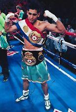 Amir Khan Hand Signed 12x8 Photo Boxing World Champion 1.