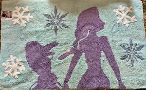 """Final Price! Disney Frozen Accent Rug 48"""" x 30"""" New With Tags"""