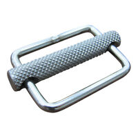 Stainless Steel Strap Slide Buckle, Webbing Harness Secure