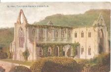 PICTURE POSTCARD TINTERN abbey from s.w. Heritage Monument Celesoue  London