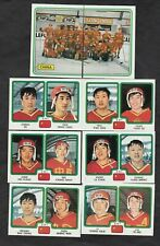 1979 Panini Team CHINA World Championships Team Set Of 8 Hockey Cards