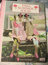 TILDA'S SUMMER IDEAS~Tone Finnanger cloth art dolls~animals~hearts PATTERNS