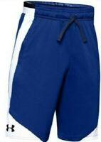 NWT Boys Youth Under Armour UA Stunt 2.0 Shorts 1329007 401 Blue White Large YLG