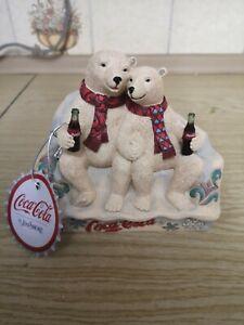 "Coca Cola By Jim Shore ""Taste The Feeling"" Figurine"