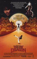 THE LAST DRAGON Movie POSTER 11x17 Taimak Vanity Christopher Murney Julius J.
