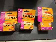 Kodak Gold 200 - Color print film 135 (35 mm) ISO200/24 -12 exposures #1883842