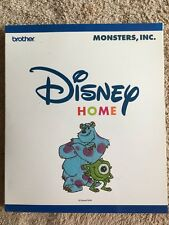 Brother DISNEY Home MONSTERS, INC. Embroidery Card ~ Mike/Sully/Roz