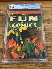 More Fun Comics #69 CGC 4.5 VG+ Dr. Fate Cover! Spectre! RARE Golden-age