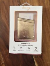 Casery Phone Pocket Stic On Card Holder Cell Phone New