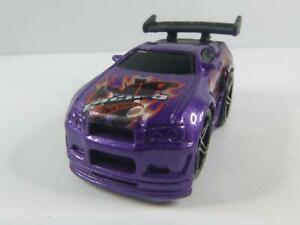 HOT WHEELS Out a Line NP RACING in lila von 2003 MALAYSIA MATTEL MODELLAUTO