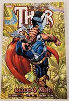 2011 Marvel Comics The Mighty Thor Gods & Men Graphic Novel Jurgens Paperback