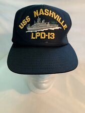 US Navy USS Nashville LPD-13 Command Ball Cap