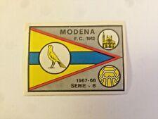 SCUDETTO CALCIATORI PANINI 1967/68  MODENA PERFETTO OCCASIONE  !!!