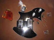 complete Ovation Breadwinner Deacon pickup assembly pickguard controls guitar