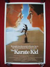 THE KARATE KID * 1984 ORIGINAL MOVIE POSTER MR. MIYAGI COBRA KAI HALLOWEEN C9 NM