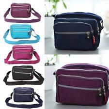 Women Nylon Handbag Lady Durable Shoulder Tote Purse Crossbody Messenger Bags