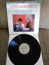 """LOS GRANDES THÈMES DE COMÉDIE III BANDE ORIGINALE LP VINYLE 12"""" 1987 VG VG+"""
