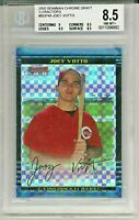 JOEY VOTTO 2002 Bowman Chrome Draft Picks XFRACTOR Rookie Card RC 91/150 BGS 8.5