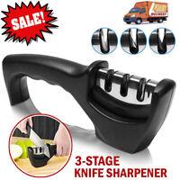 3 Stages Knife Sharpener Kitchen Knives Blade Sharpening Tool Handheld System