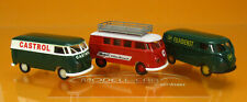 Brekina 90473 Set VW T1 Transporter Castrol Mobil BP Scale 1 87