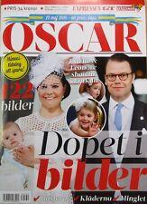 Taufe Dopet Baptism Prinz Prince Oscar Schweden Prinzessin Princess Victoria NEU
