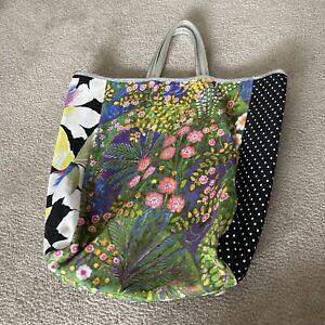 Anthropologie Miss Albright Large Floral Tote Bag