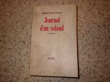 1947.Journal d'un salaud .Henri Queffelec (envoi)