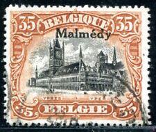 BELGISCHE BESETZUNG MALMEDY 1920 8C gestempelt BEFUND BPP 160€(J8699