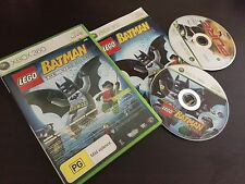 LEGO BATMAN THE VIDEO GAME AND PURE XBOX 360