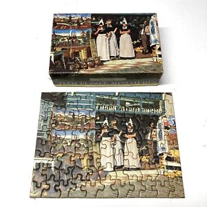"VTG Tripl-Thick Tuco Puzzle Miniatures ""THE ART SHOP - Complete HOLLAND"