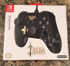 Nintendo Switch - ZELDA BOTW Wired Controller - PowerA -Available Now! New! MINT