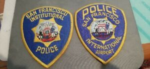 Obsolete San Francisco Police patches