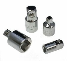 "4pc 1/4"" to 3/8"" to 1/2"" Socket Adaptor Reducer Converter Set Kit"