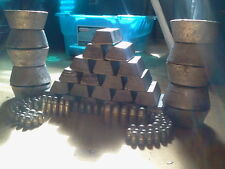 20+ Lbs (pounds) cleaned range lead,lee bar ingots for bullets,sinkers,molds,etc