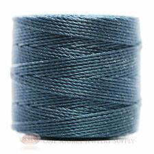 77 Yds. Super-Lon Cord #18 Dark Teal Beading Crafting Stringing Crochet