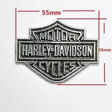 Metal Shield Emblem Sticker Harley Davidson road king classic fat bob Boy street