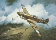 """First Blood"" Roy Grinnell Print co-signed by Flying Tiger Ace David ""Tex"" Hill"