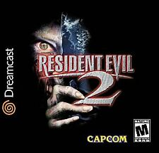 RESIDENT EVIL 2 SEGA DREAMCAST DISC ONLY