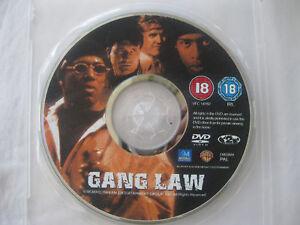 GANG LAW starring Gary Busey, Silkk Tha Shocker, Jeff Speakman, Snoop Dog  {DVD}