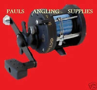 BRAND NEW SEA FISHING BOAT MULTIPLIER REEL + FREE LINE