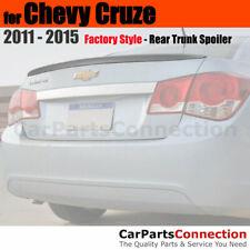 Painted Abs Trunk Spoiler For 11 Chevy Cruze Sedan Wa501q Black Graphite Met Fits Cruze