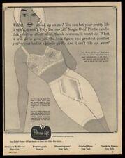 1963 Perma-Lift bra panty girdle blonde woman art vintage print ad
